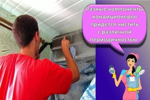 Как самостоятельно разобрать и почистить домашний кондиционер