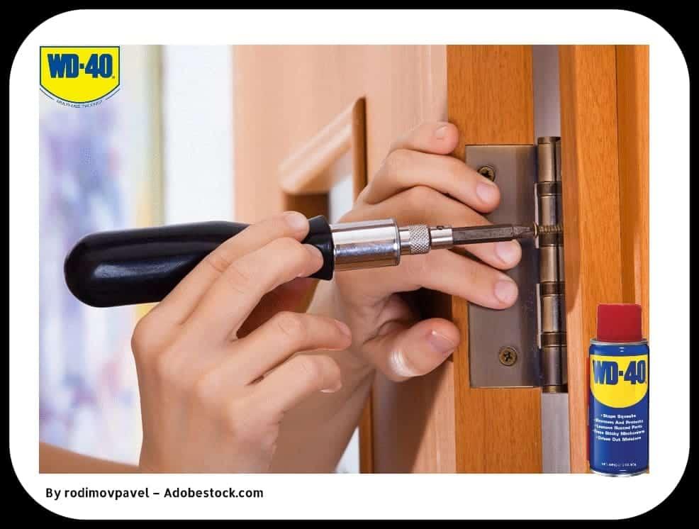 Что делать со скрипом дверей в комнате и чем смазывать петли?