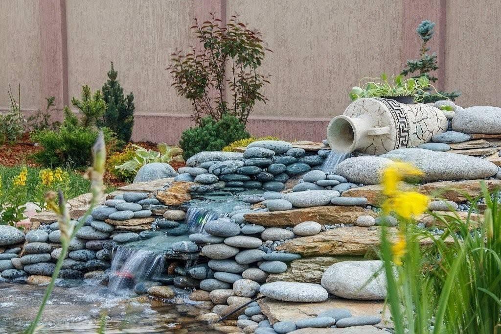 самостоятельно любящие водопад в саду своими руками фото многие прославившиеся
