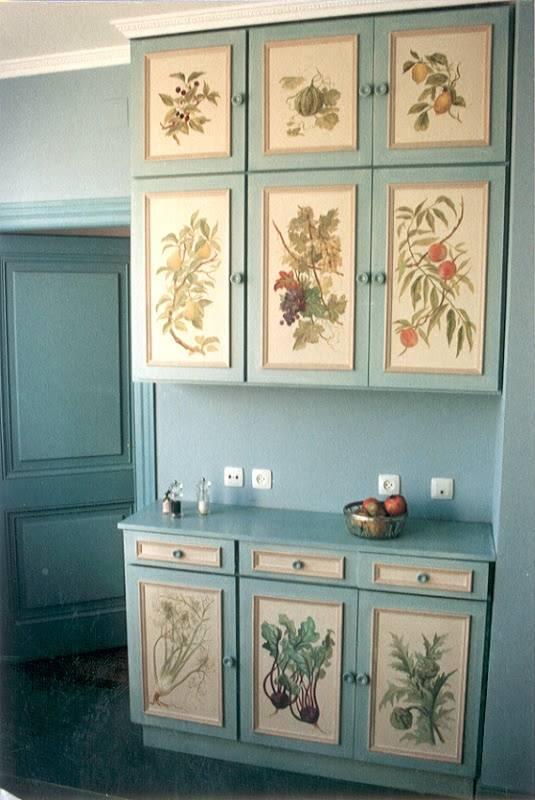 как декорировать старую кухню своими руками фото любом вариантов