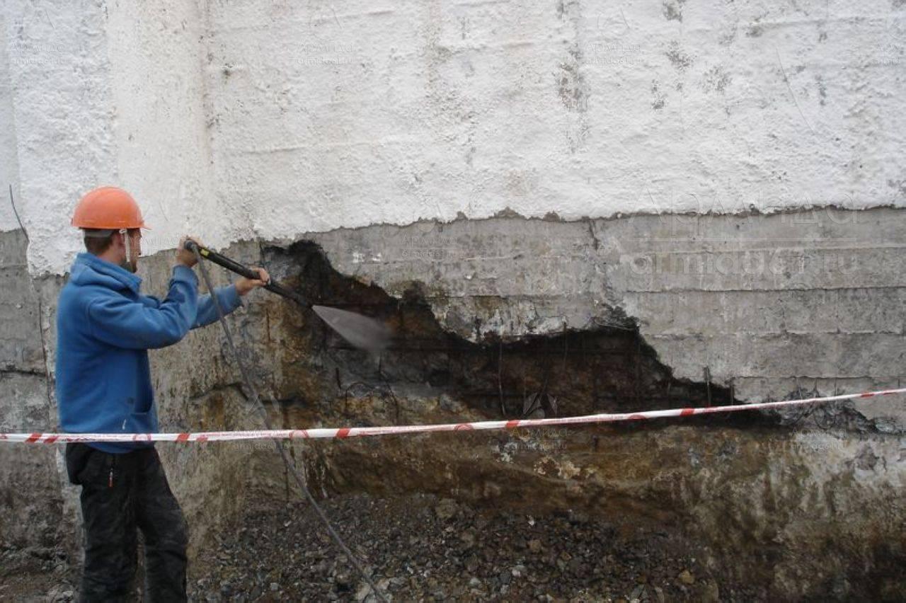 Защита фундаментов от коррозии, промерзания и разрушения