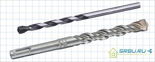 Особенности сверла по бетону для дрели