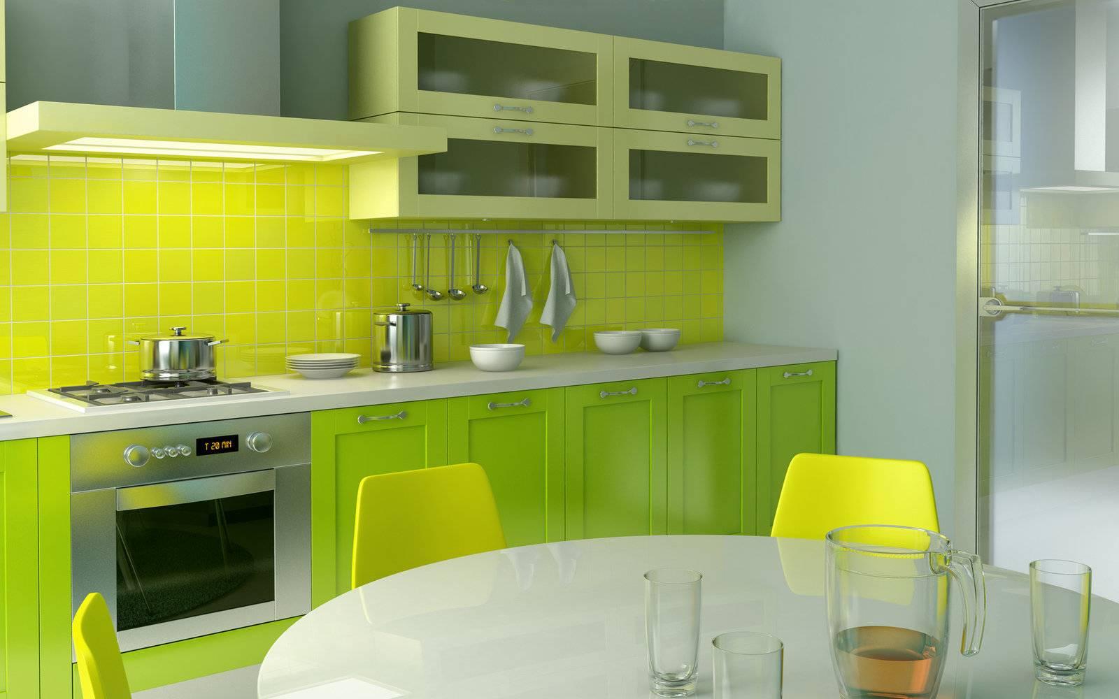 Сиреневая кухня ─ весеннее настроение в ярких тонах