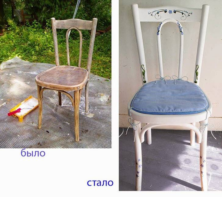 4 супер-способа преображения стула и табуретки своими руками