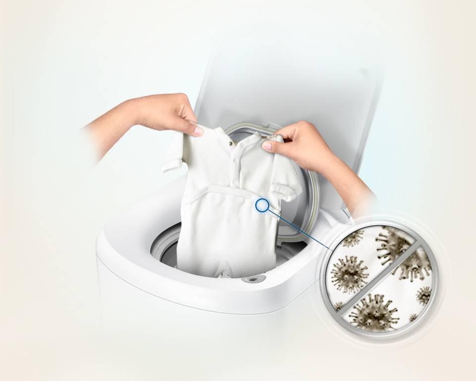 Как убрать запах плесени из стиральной машины