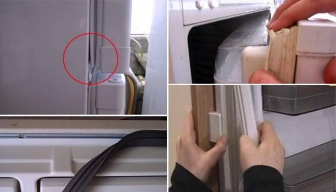 Как поменять уплотнитель на холодильнике