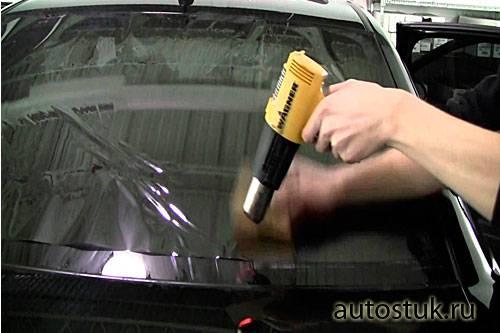 Техника правильной оклейки авто пленкой