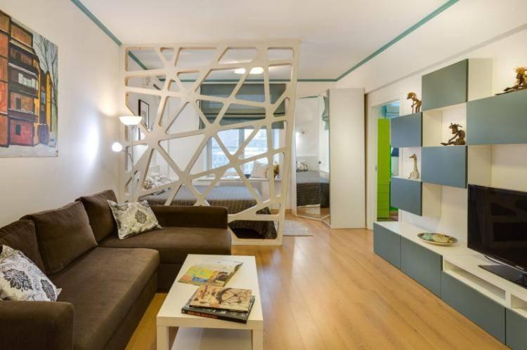 Как зонировать комнату для родителей и ребенка