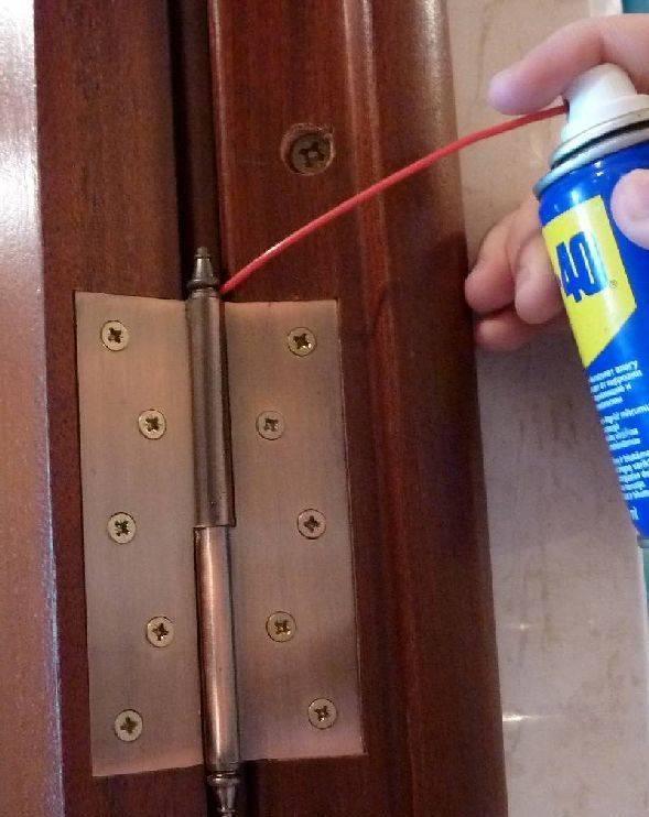 Дверь скрипит: как устранить проблему самостоятельно