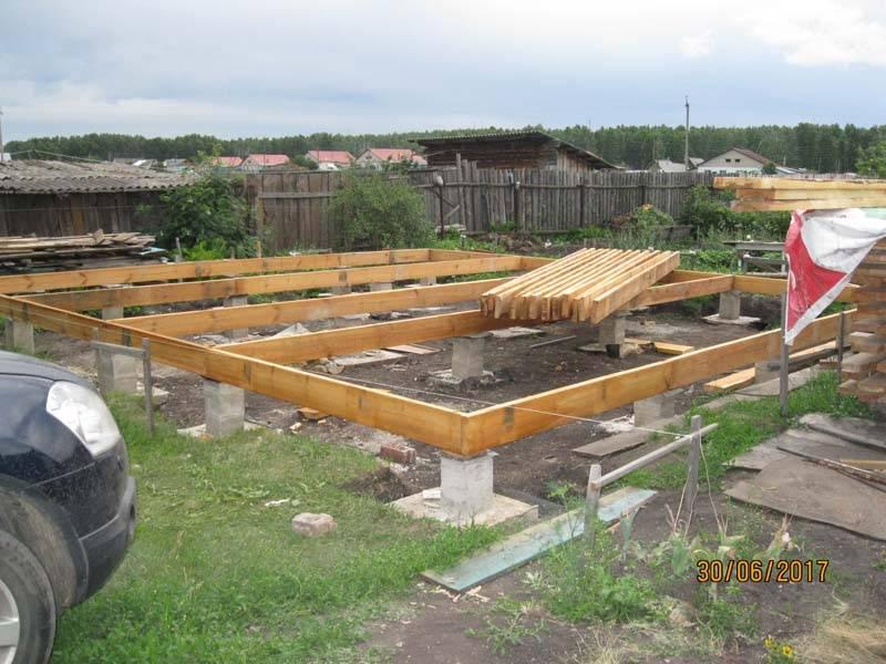 Рассчитываем фундамент для каркасного дома