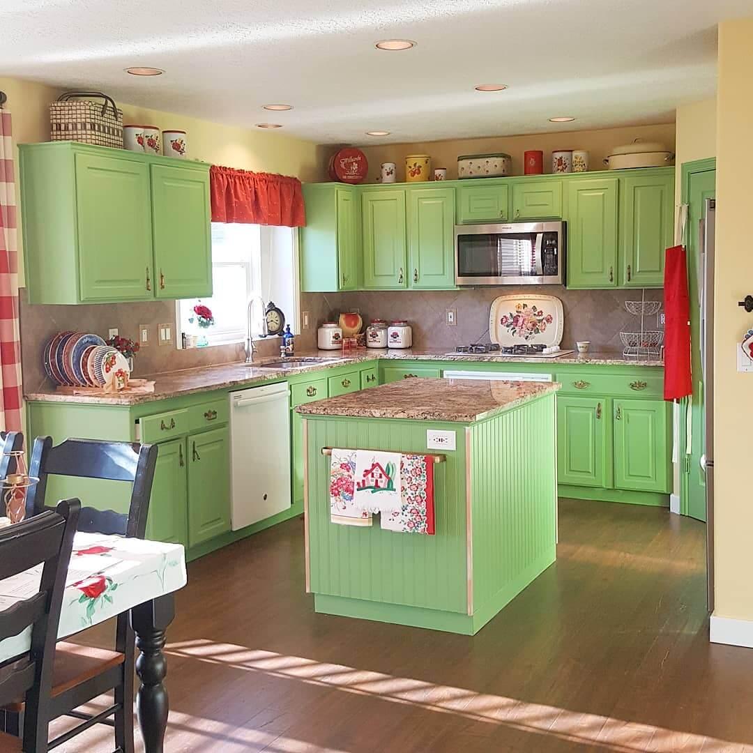 Цвет кухни - идеальное сочетание (85 фото) | +100 идей .