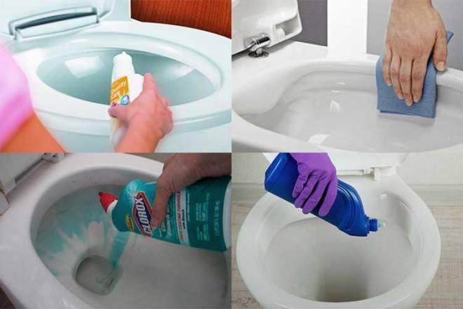 Как почистить унитаз за пару минут до блеска