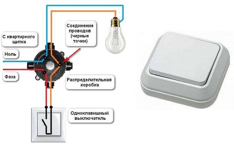 Как заменить выключатель света с одной или двумя клавишами