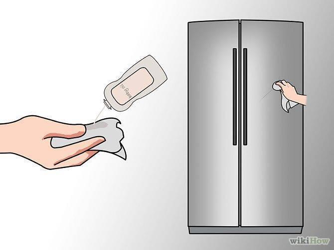 Как убрать наклейки с холодильника: топ 6 способов чем быстро удалить и отмыть старый заводской клей без следов в домашних условиях