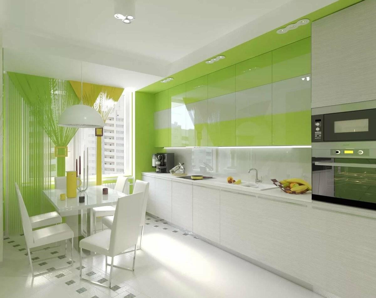 картинки дизайн кухни в зеленом цвете только