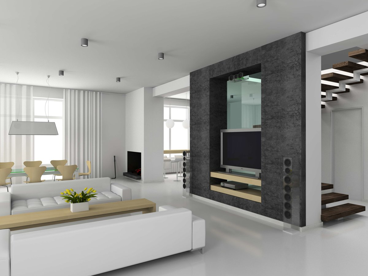Ремонт квартиры в стиле модерн фото