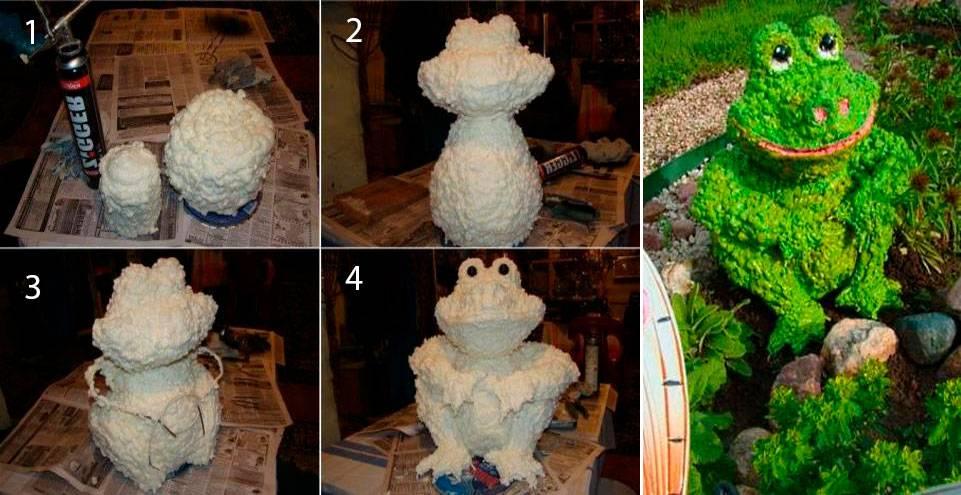 Фигурки из гипса для сада своими руками: фото, мастер-класс и тонкости изготовления