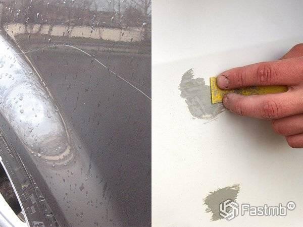 Подкрашиваем сколы на авто своими руками: недорого, незаметно и без странных лайфхаков