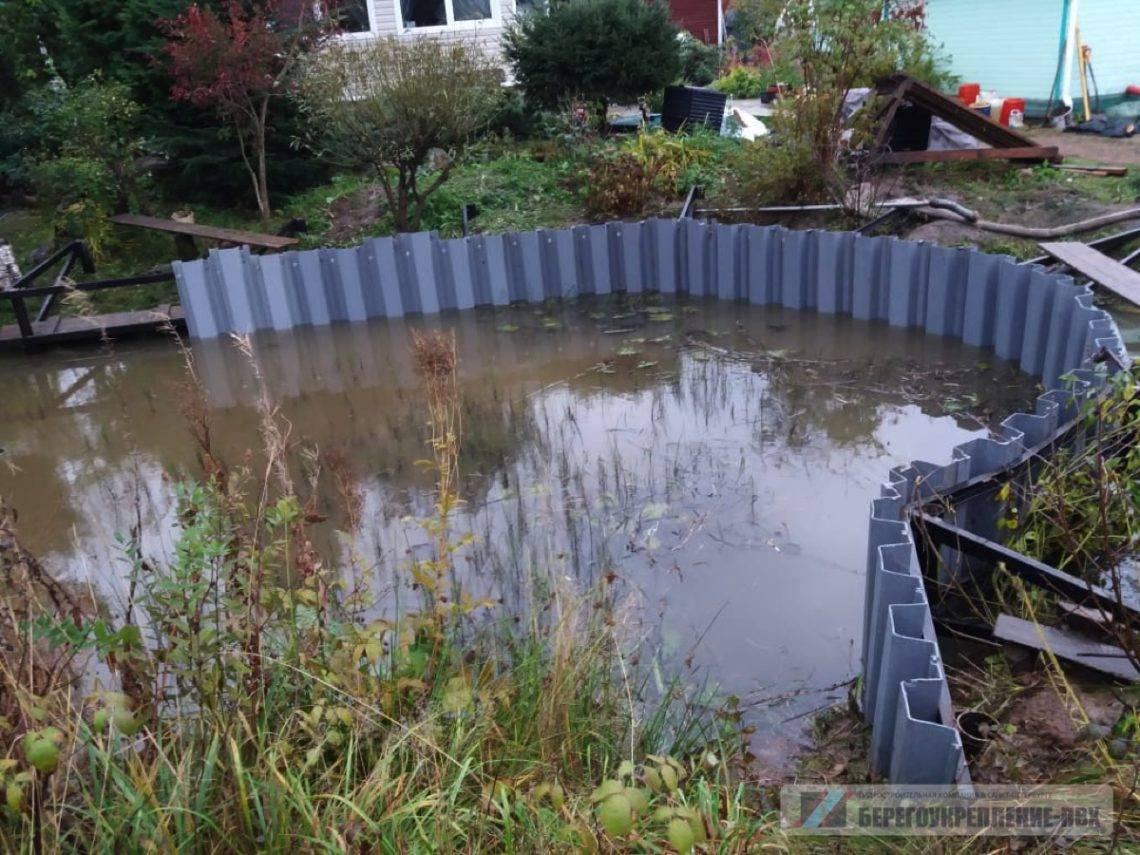 Пошаговая инструкция, как на даче сделать пруд своими руками