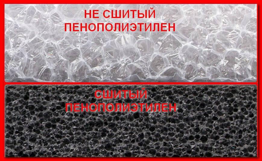 Как правильно выбрать вспененный полиэтилен для утепления и звукоизоляции помещений