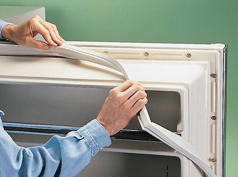 Восстановление уплотнителя двери холодильника своими руками.
