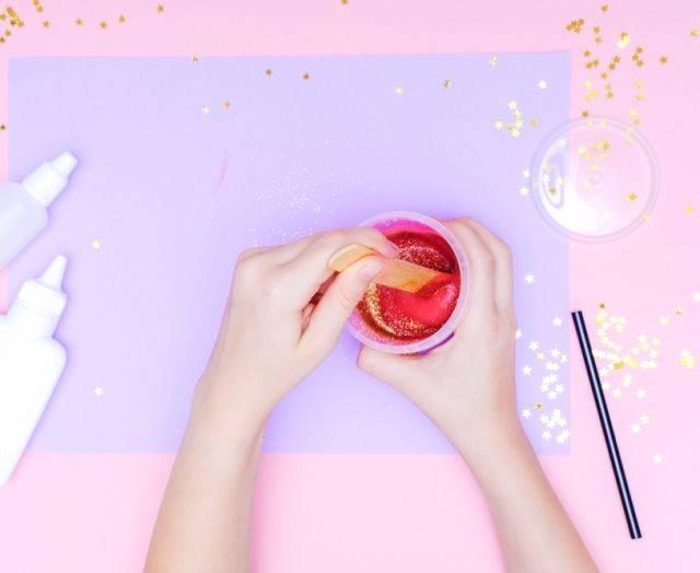20 способов сделать слайм дома
