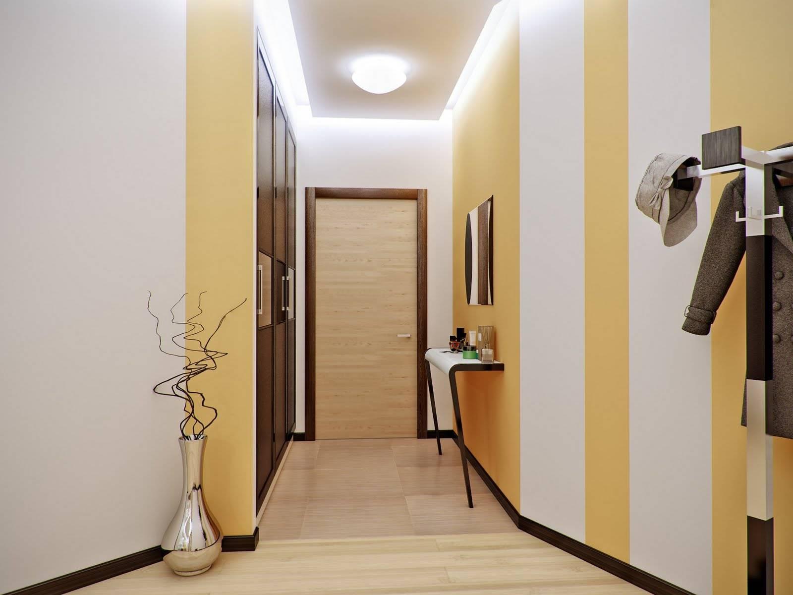 обои для оформление коридора в квартире фото проблема
