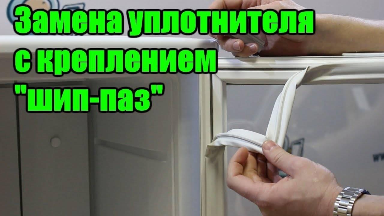 Ремонт уплотнителя и регулировка двери холодильника своими руками