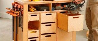 Ящик для инструментов  своими руками по чертежам