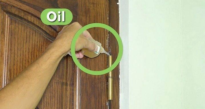 Чем смазать дверные петли, чтобы не скрипели — несколько традиционных и неординарных решений