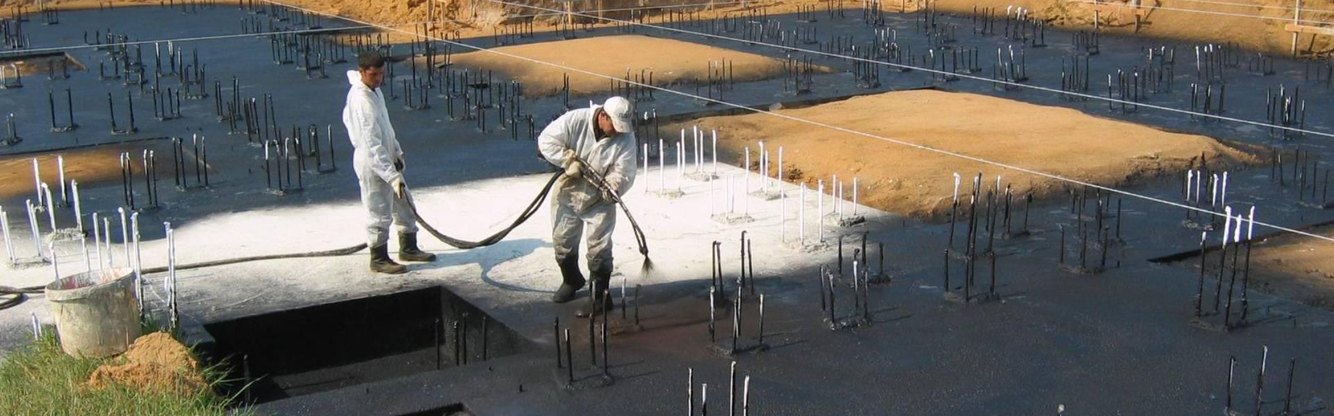 Жидкая резина для гидроизоляции: сферы применения