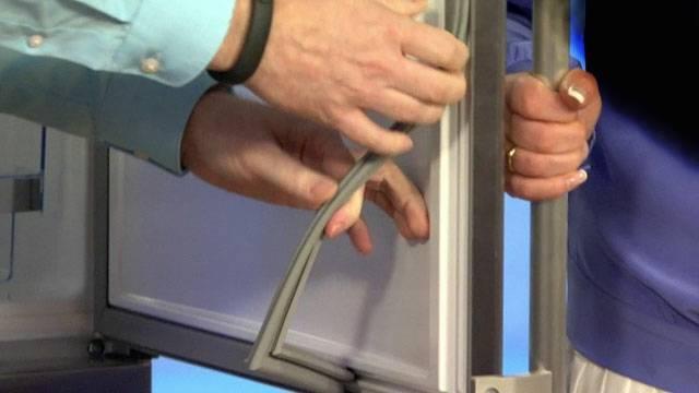 Как поменять резинку на холодильнике и чем её можно приклеить