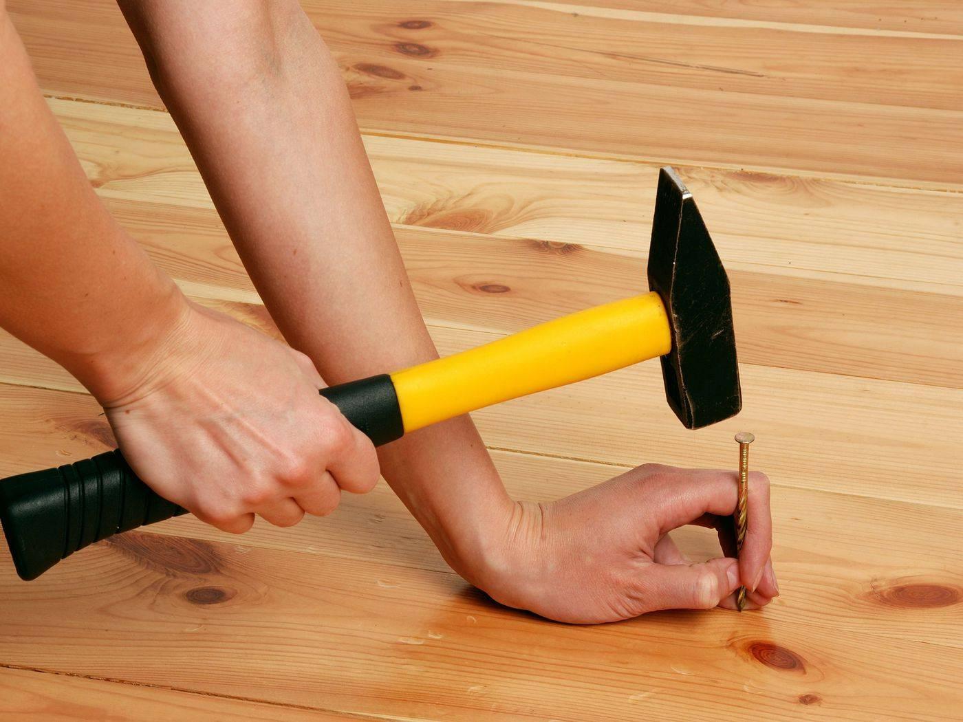 Как устранить скрип деревянных полов без разборки - лучшие способы!