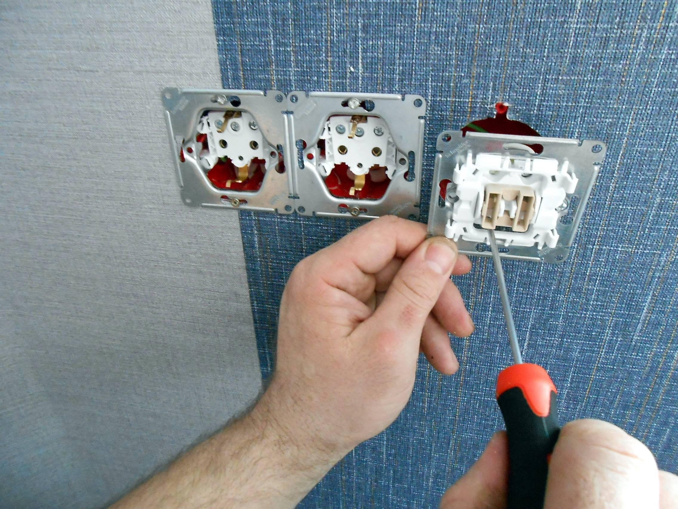Подключение мастер-выключателя на всю квартиру — схема