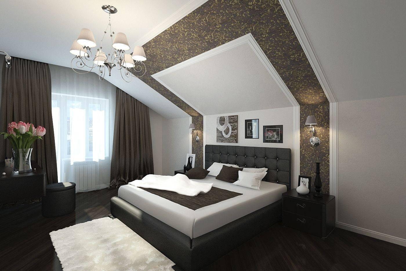 крупные, полумахровые, дизайн спальни под крышей фото прочитал еще всю
