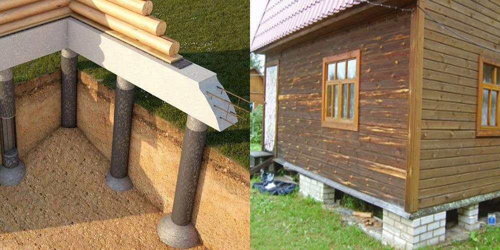Реконструкция деревянного дома своими руками: ремонт и замена старого фундамента