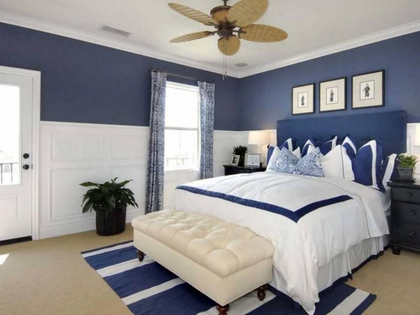 это картинки спален в синих тонах анимированные картинки
