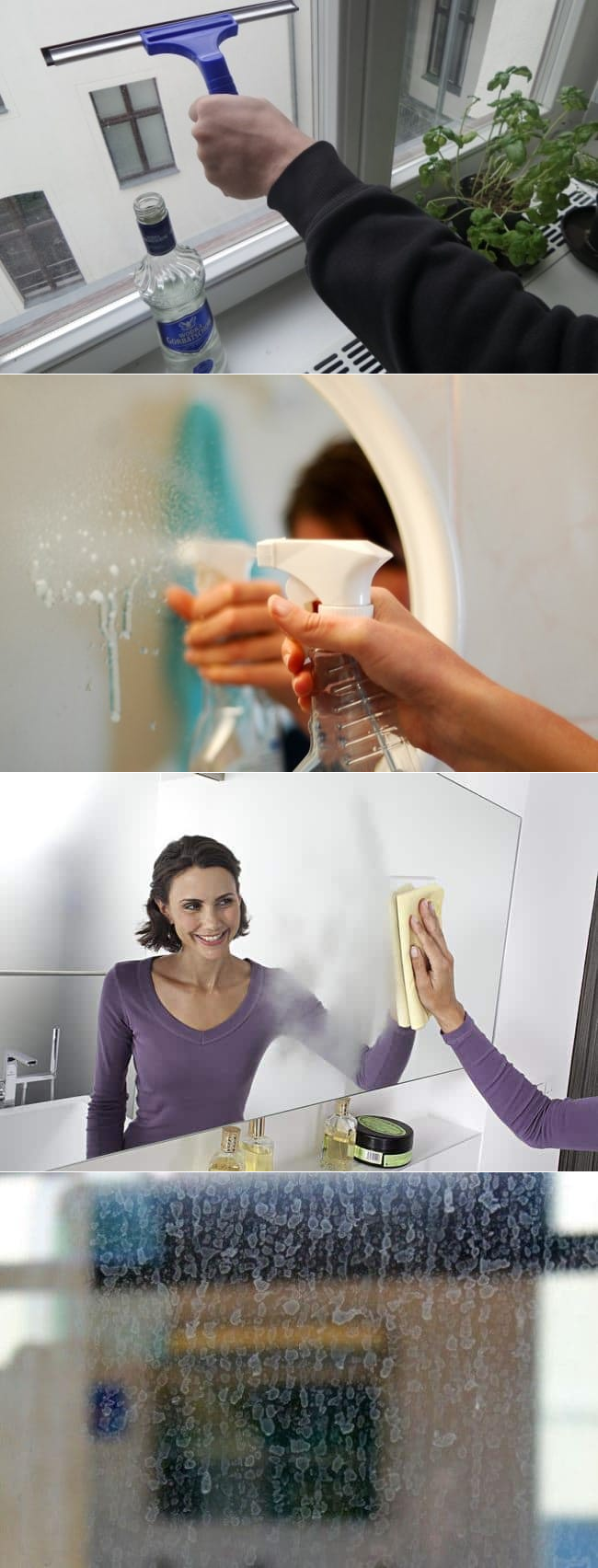 Как и чем чистить зеркало чтобы не было разводов