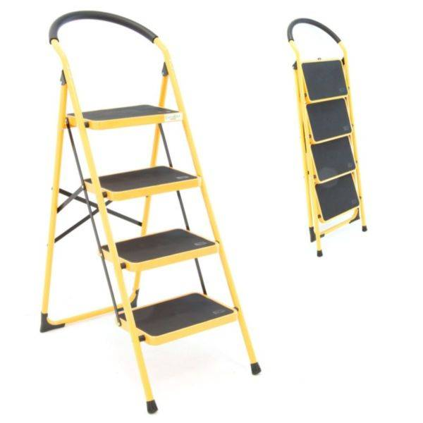 Стремянки (41 фото): что это такое и как выбрать? каких размеров бывают стремянки? чем они отличаются от лестниц?