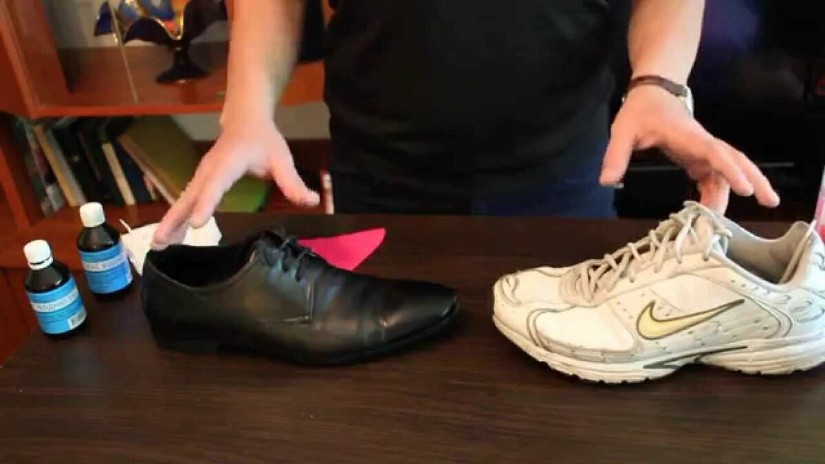 Быстрое устранение неприятного запаха в обуви подручными средствами