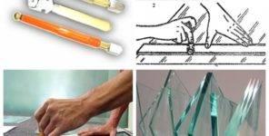 Как резать стекло правильно