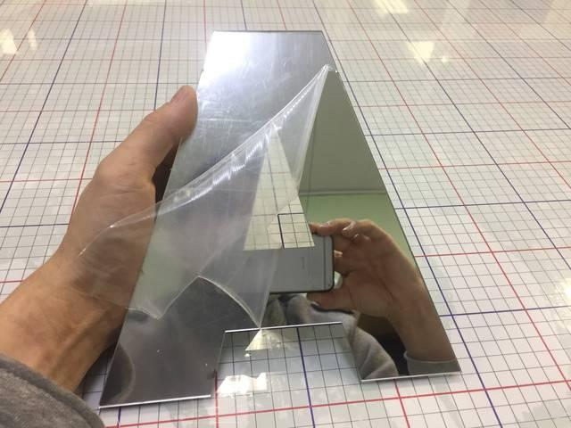 Зеркальные пластики