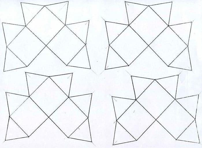 Лучшие способы, как своими руками сделать из бумаги кубик