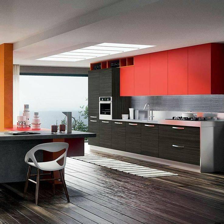 Интерьер кухни в стиле хай-тек - 50 фото идей