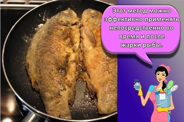 Как избавиться от запаха рыбы в квартире, на различных поверхностях, а также на руках