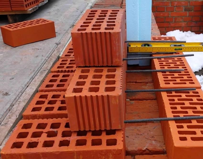 Гибкие связи для кирпичной кладки: базальтовые связи по газобетону для облицовочного кирпича