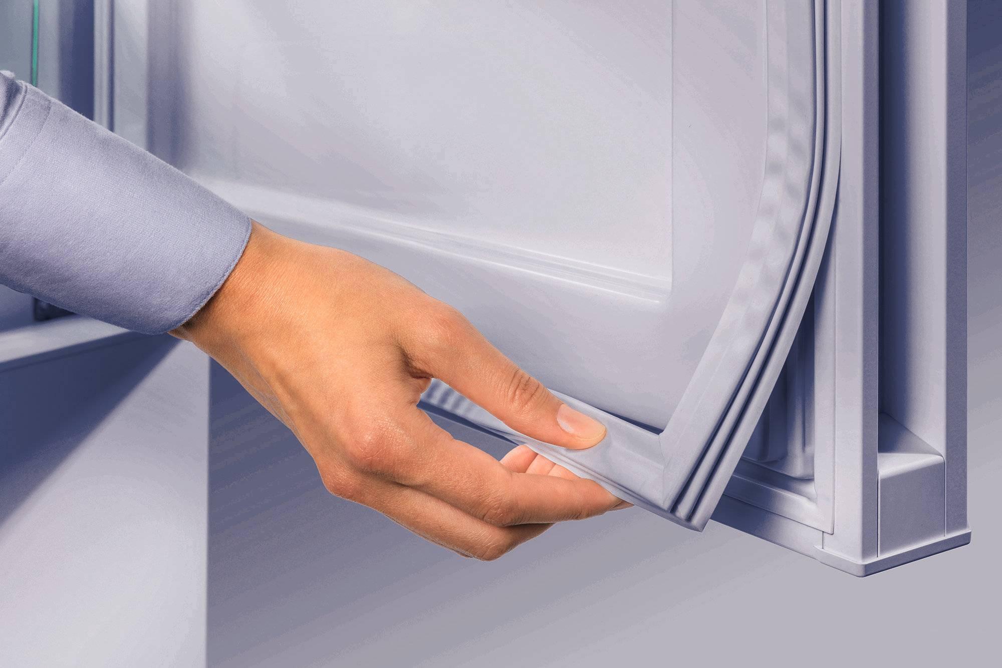Как происходит замена уплотнительной резинки на холодильнике