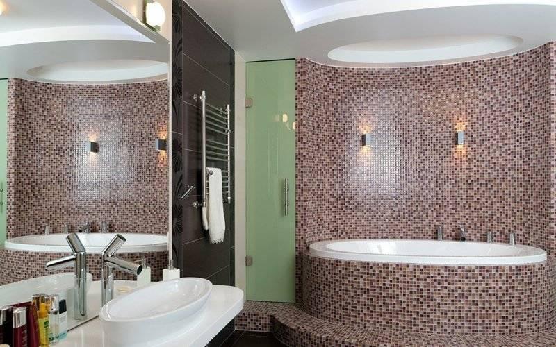 Стены в ванной – 65 фото идей дизайна и современных проектов интереьра