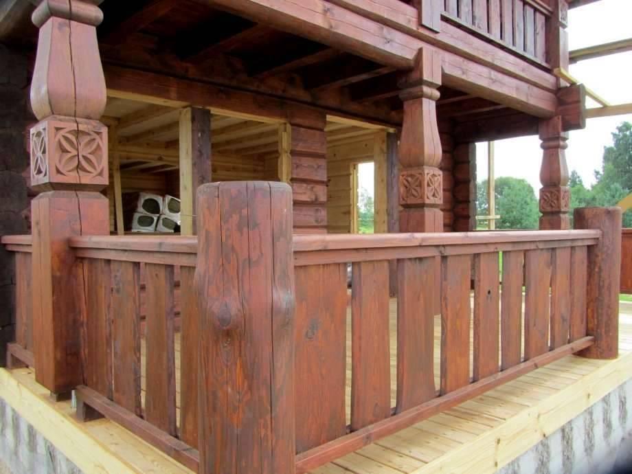 деревянные перила для веранды фото зеркало трельяжа