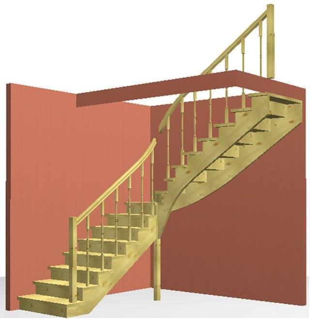 3D Проект нашей лестницы